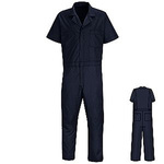 RED KAP®, Speedsuit Coverall, 65 Perc. Polyester / 35 Perc. Cotton