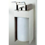 DISPENSER-SOAP,& PLASTIC SOAP BOTTLE