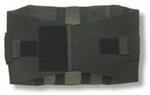 Belt Only, Black, X-Large
