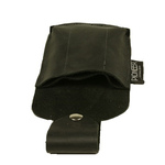 neral Leathercraft IDP-P Multi-purpose Leather Pouch, Three-Slot, Black