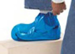 VR, Shoe Cover, Vinyl, Blue, Elastic Top, Regula
