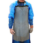 Metal Mesh Apron, Stainless Steel Mesh, Universal, 34 in, 20 in