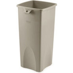 Untouchable®, Waste Container, 23 gal, Black