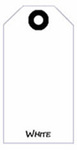 Blank Tag, Coated Sulfite, White, 4-3/4 in, 2-3/8 in, 1000 per Box|5 Boxes per Carton