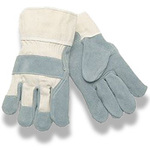 Leather Palm Gloves, Cowhide, Leather