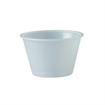 Solo®, Cold Cup, Translucent, Plastic, 4 oz, 250 per Bag|2500 per Case