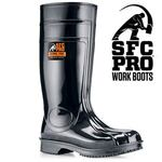 SFC Pro 2063 Steel Toe Boot, PVC