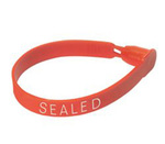 Truck Seal, High-Density Polyethylene / Acetal, 7.45 in, 0.50 in, Red