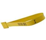 Guard Lock®, Truck Seal, Tin-Plated Steel, 8.39 in, 0.52 in, Yellow