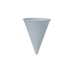 Solo® SCC4R2050 Cone Paper Cups with Plain Rolled Rim, 4oz
