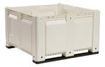 MACX® M40SWH1 Solid Bin, Long Side Runner, White