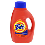 Tide®, Liquid Laundry Detergent, Liquid, 50 oz, Blue, Clean Fresh