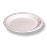 Chinet®, Disposable Plate, Round, Recycled Fiber, Classic White, 10-1/2 in