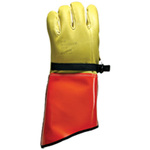 Leather Protector Gloves, Leather / Vinyl