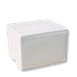 Foam Cooler, 17-1/2 L x 14-1/2 W x 12-1/4 H in, 26 qt, 6 per Case
