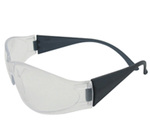 Safety Glasses, Polycarbonate, Clear, Polycarbonate, Framed, Clear