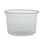 Solo®, Cold & Hot Cup, Clear, Plastic, 16 oz, 500 per Case