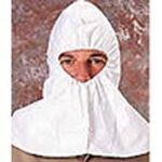 Diposable Hood, Polypropylene, White, Elastic, 100 Per Case, EN1186