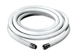 Apache Hose 97103305 Creamery Hose, 3/4 in, 25 ft, Creamery White, 125 PSI