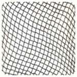 208 NetWorks Hairnet, Nylon, 1/4in diamond holes, White, 100/BG