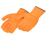 Coated Knit Gloves, PVC, Uncoated