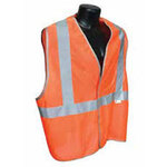 Breakaway Safety Vest, Hi-Viz Orange, Large