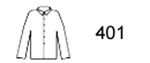 Guardian Protective Wear 401 Rain Jacket, Polyurethane/Nylon, Yellow, Snap Front Closure. Storm Flap