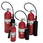 Amerex® 700 Carbondioxide Fire Extinguisher, 10 lbs, Class BC, Red