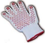 Hot Glove with Red Silicone Grip