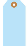 Blank Tag, Coated Sulfite, Light Blue, 3-3/4 in, 1-7/8 in, 1000 per Box|5 Boxes per Carton