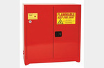 Standard Cabinet, Steel, Red, 45 gal