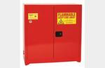 Standard Cabinet, Steel, Red, 45 gal