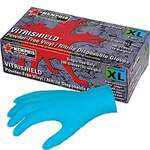 VITRISHIELD, Disposable Gloves, Nitrile / Vinyl, Smooth