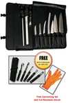 #10 Piece CG3000 Knife Set - with case