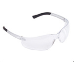 Safety Glasses, Clear, Anti-Fog Scratch-Resistant, Framed, Clear