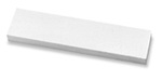 Sharpening Stone, 1 in, Single, Silicon Carbide, 8 in, 2 in, Fine, Gray, 1 per Pack|5 per case