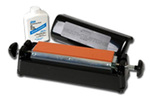 Replacement Sharpening Stone, 1/2 in, Single, Aluminum Oxide, 11-1/2 in, 2-1/2 in, Fine, Orange / Brown, IM-313 Sharpening System, 1 per Pack, 2 per Case