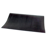 Switchboard Mat, Black, 36 in, 24 in, 1/4 in, Rubber