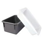 Tote Pan, Polyethylene, White