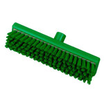 Resin-Set DRS®, Deck Scrub Brush, Polyester, 11.8 in, Stapled, Green