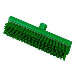 Hill Brush B770RESG Green Stiff Resin-Set Deck Scrub Brush 12