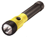 PolyStinger LED Rechargeable Flashlight, Yellow (NiCD)