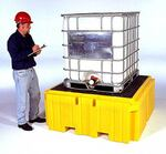 UltraTech IBC Spill Pallet Plus® 1158 with Drain 360 Gal