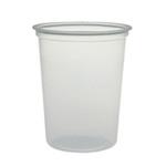 MicroGourmet®, Deli Container, Polypropylene, Clear, 32 oz