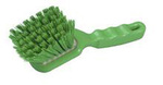 Resin-Set DRS®, General Purpose Hand Brush, Polyester, 10 in, Stapled, Green