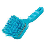 Hill Brush D4RESB Blue 10 Stiff Resin-Set Short Handled Brush