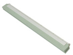 Floor Squeegee, Foam Rubber, 23.6 in, White