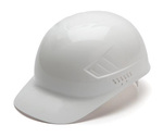 Ridgeline, Bump Cap, 4-Point, Snap Lock, White