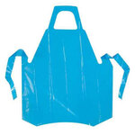 VR Die-Cut Blue Vinyl Aprons 8 Mil 35 x 55 Poly Co