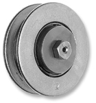 "GF FRANK ROLLER BEARING TROLLEY WHEEL 7845 4"" STAINLESS STEEL"